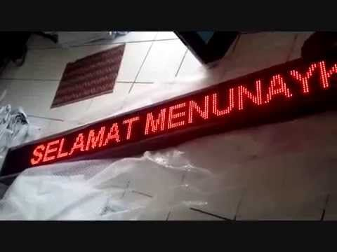 081297667579 JUAL RUNNING TEXT Kalimantan Banjarmasin Balikpapan Samarin...