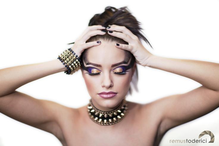 make-up photo sesion