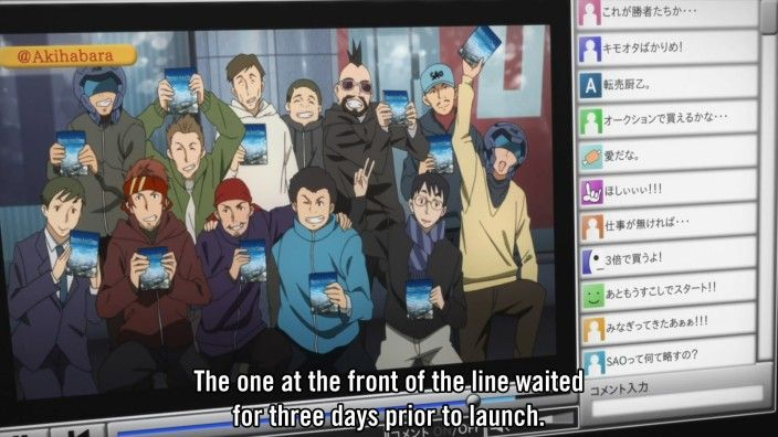 sword art online funny | Oh-ho, I see Klein in there. Guess that's his guildmates too. Never ...