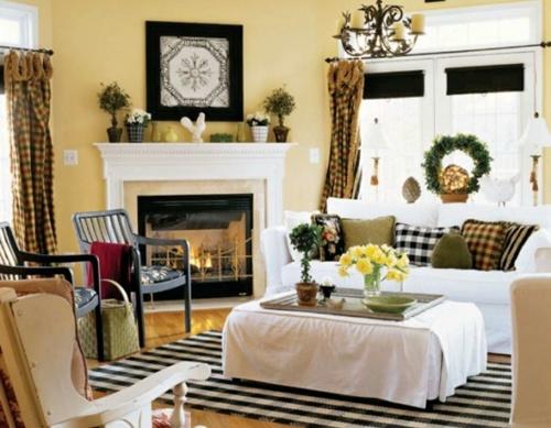 52 besten Living Room Decor Bilder auf Pinterest Creme - wohnzimmer landhausstil gelb