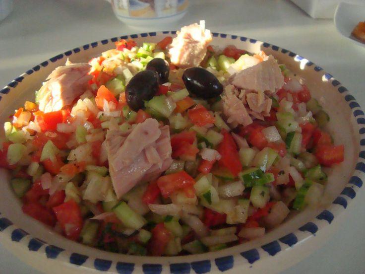 Recette de salade Tunisienne ~ 100% Tunisienne