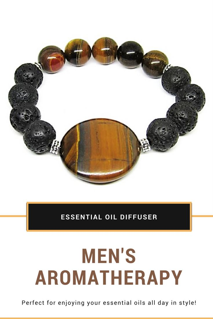 Essential Oil Bracelet, Lava Bead Bracelet, Lava Stone Diffuser Bracelet, Lava Stone Beads, Aromatherapy Bracelet, Aromatherapy Jewelry  Perfect for enjoying your essential oils all day in STYLE!   Perfect gift for him!