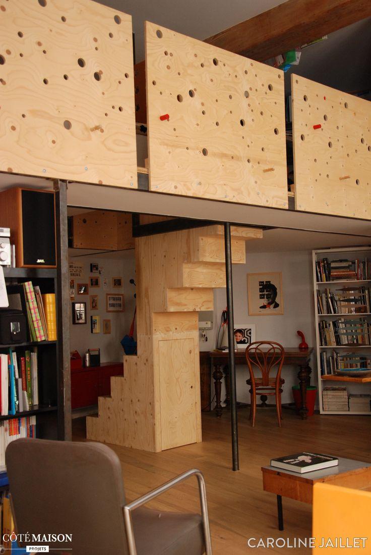 Les 25 meilleures id es de la cat gorie hauteur sous plafond sur pinterest plans loft - Hauteur sous plafond standard ...