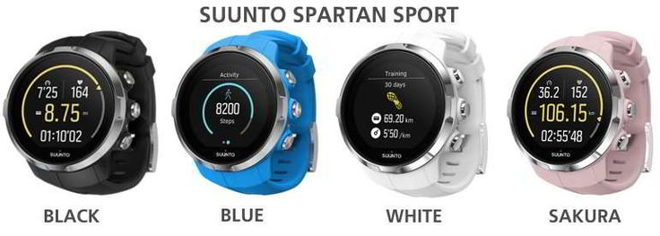 Kolekce suunto spartan Sport