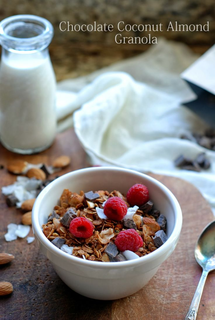Simply So Good | Chocolate Coconut Almond Granola