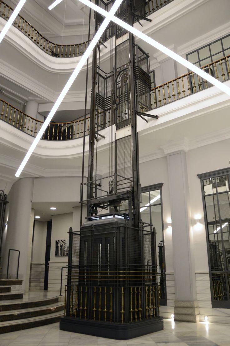 Calle Gran Va 27 Madrid  Design in 2019  Ascenseur