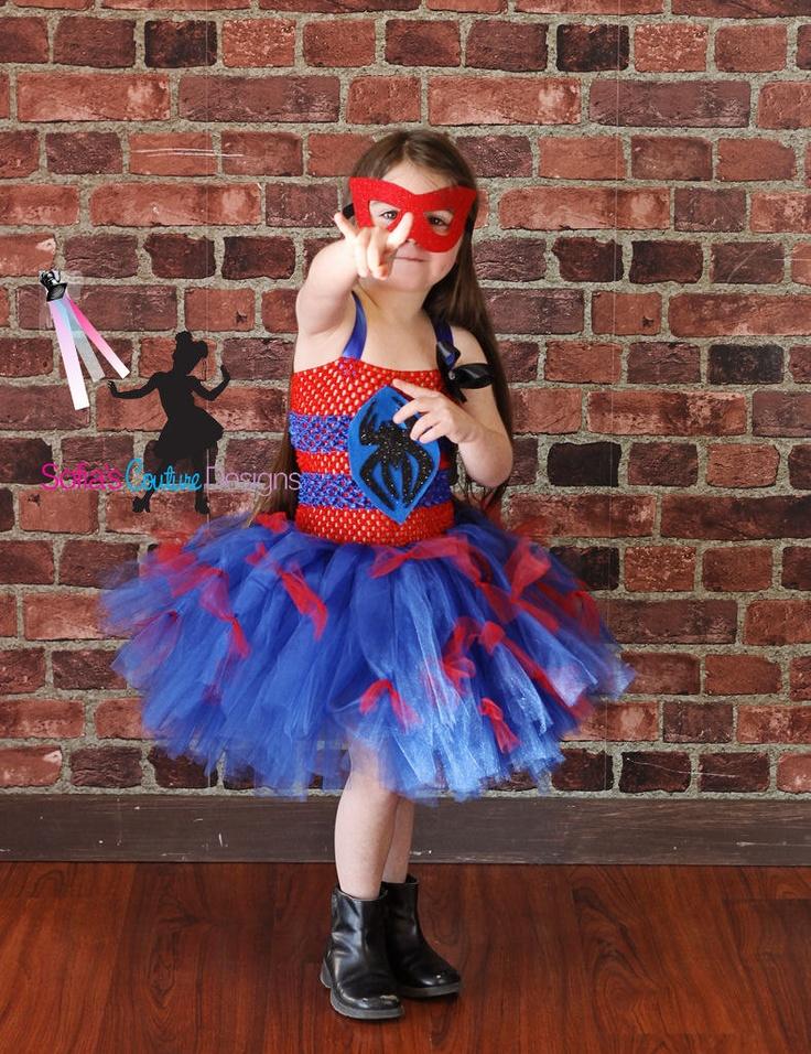 Spider man  superhero tutu costume.