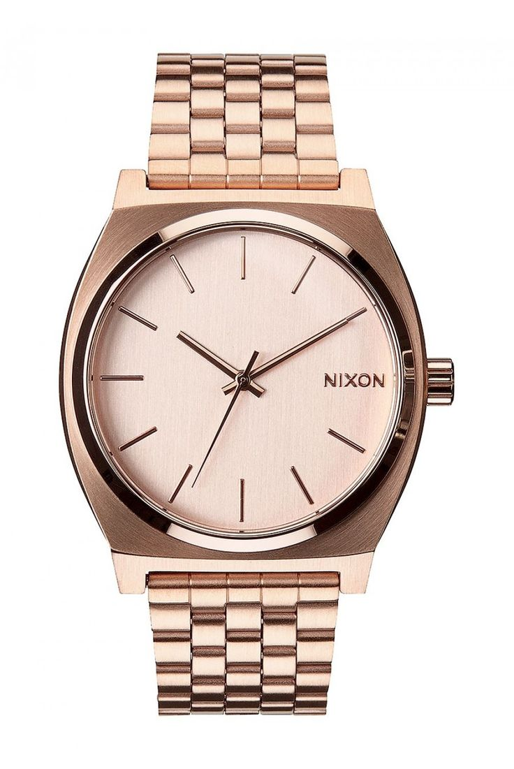 Relogio Nixon TIME TELLER All Rose Gold Unico | ESS