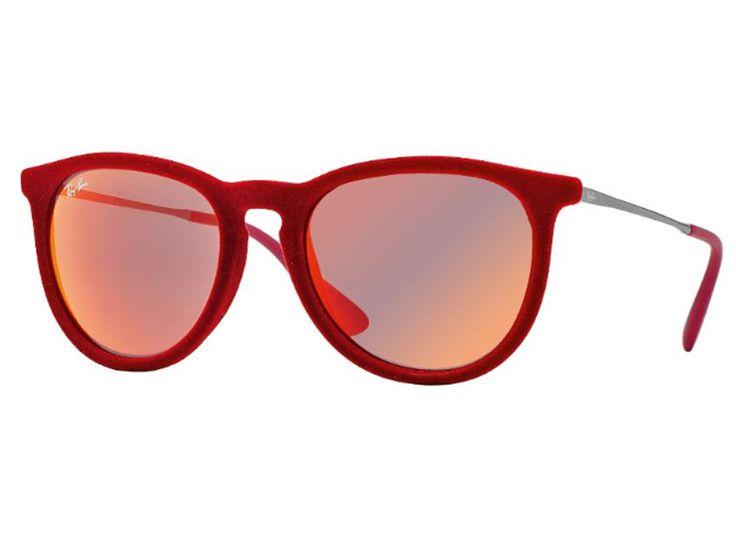 Óculos De Sol Ray Ban Erika Veludo RB4171 6076/6Q Tam.54