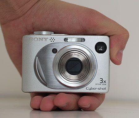 Sony Cyber-shot DSC-W1 recenzie | Digitálne fotoaparáty zdrojová strana