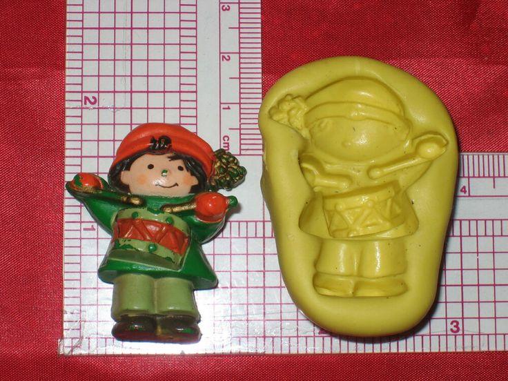 Gnome Miniature Garden Silicone Mold Bookscrapping Resin Clay A892 Cake Fondant
