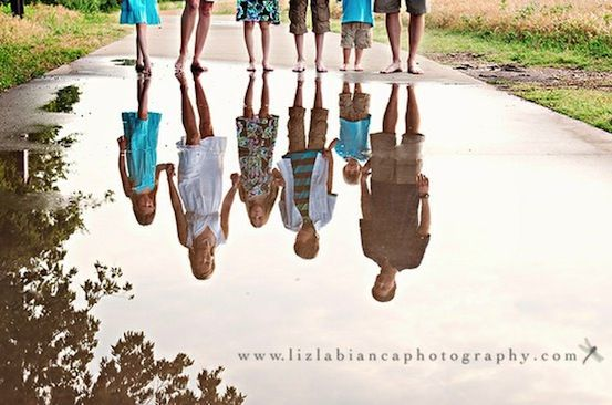 Photo ideas for when I actually have my own family #family #children #mother #father #water