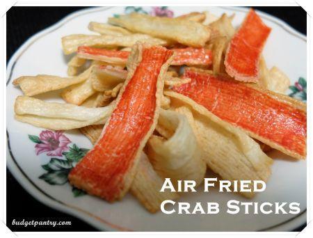 Airfried Crab Sticks