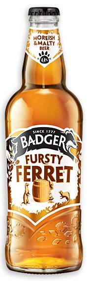 Fursty Ferret - Badger Brewery by Hall & Woodhouse, Blandford, Dorset.