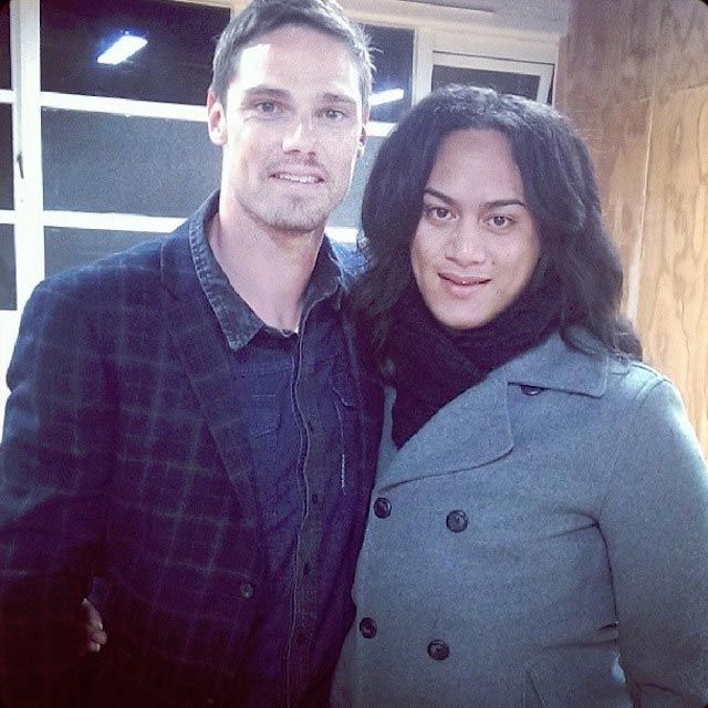 Jay Ryan And Wife Actor Jay Ryan and Dia...