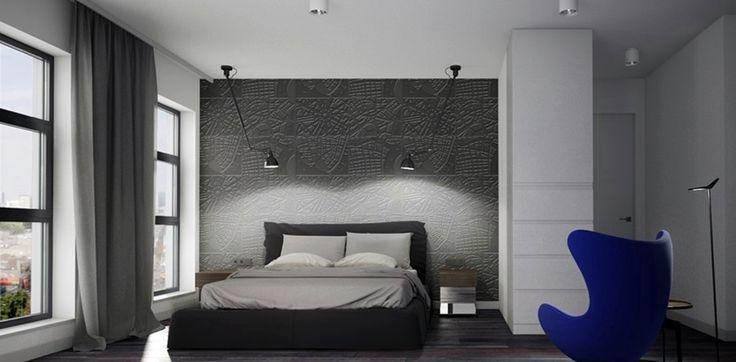bedroom#La Lampe Gras#elitis wallpaper#