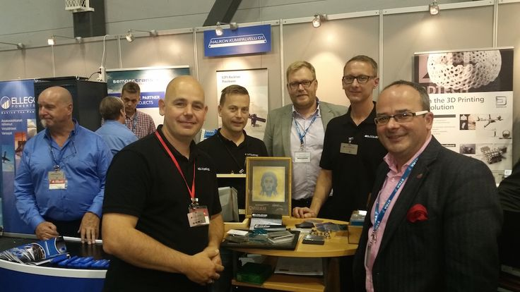 B3CF attended the Subcontracting Trade Fair in Tampere. We were delighted to meet up with B3CF member Ron Broens, who was there with his company, Eloquence which specializes in colour laser engraving.