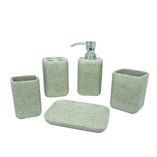 customized resin bathroom accessory sets  welcome for any inquiry to sales@sztianma.net