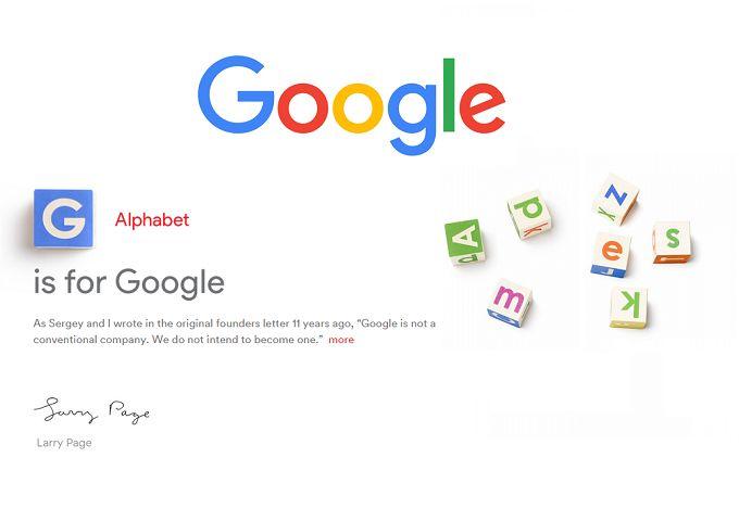 Google'ın Alphabet Dönüşümü Tamamlanıyor