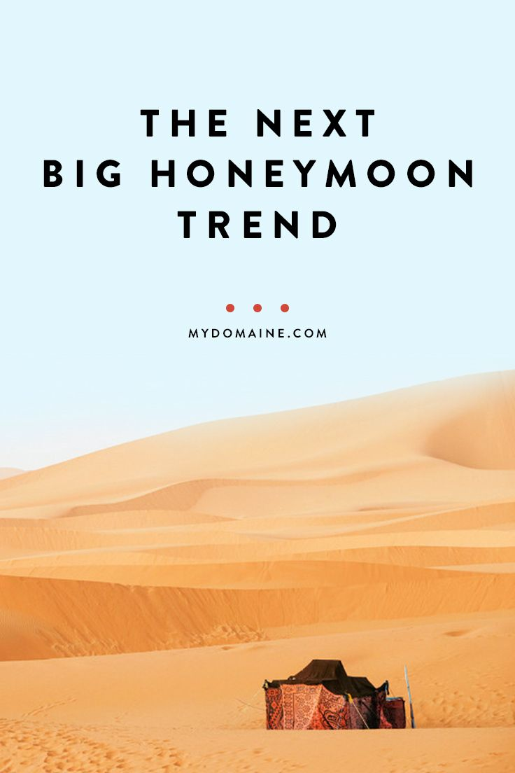 The traveling honey mood trend every new couple should try:
