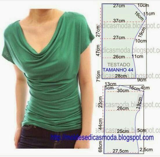 Diy idea how to make tutorial sew easy t-shirt