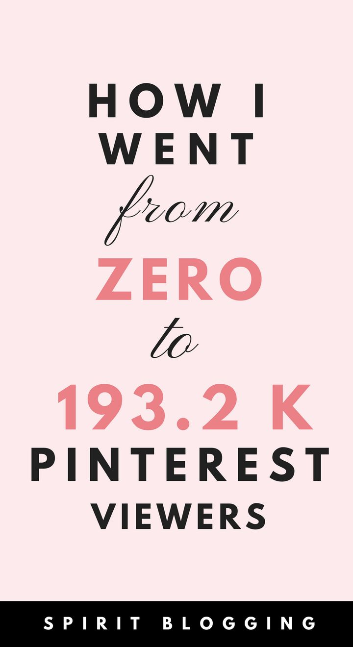 Get free pinterest traffic to your blog with this stratefy #blogging #pinterest