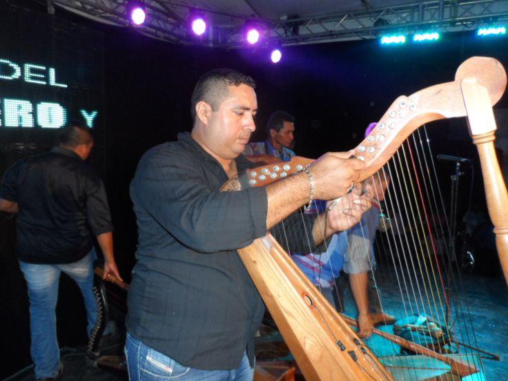 Yofre Ozorio, arpista araucano