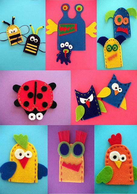 finger puppets by NeusaLopez, via Flickr
