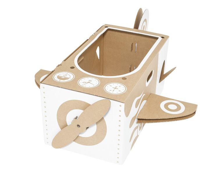Kartonnen vliegtuig (Flatout Frankie Collection)