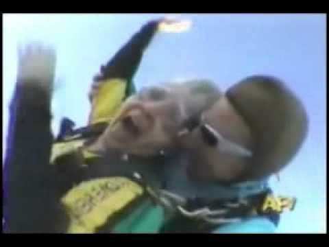Funny Dental Video   Parachute Denture