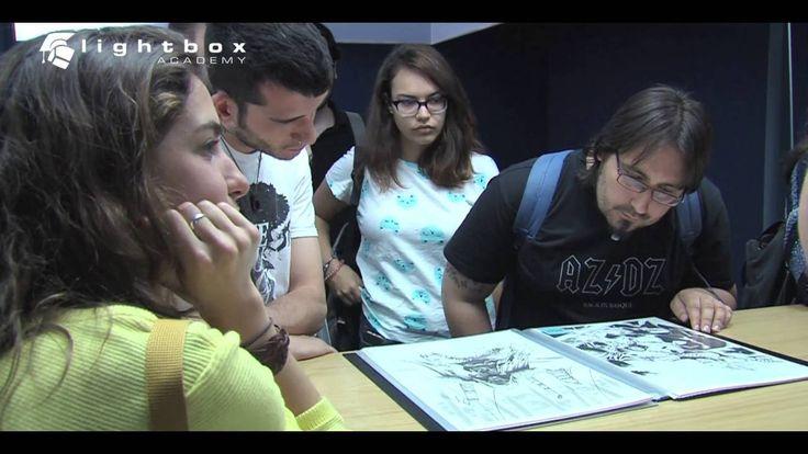 "Entrevista a CAFU, Cómic Artist de DcCómics y Marvel, tras su masterclass ""De Batman a Superman""."