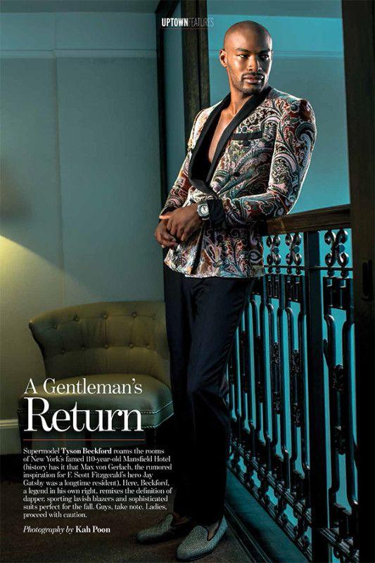 Stop & Stare: A Dapper Tyson Beckford Covers UPTOWN Magazine - theJASMINE.BRAND :: theJASMINE.BRAND