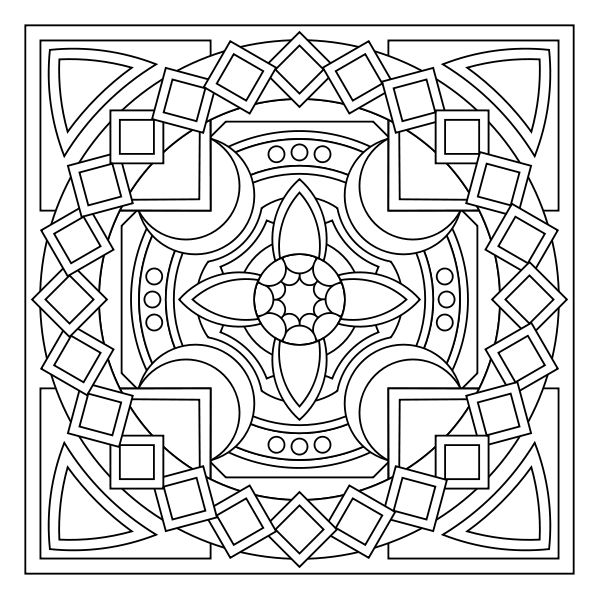 free printable mandala coloring pages coloring therapy