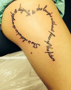 proverbs 31 tattoo - Google Search