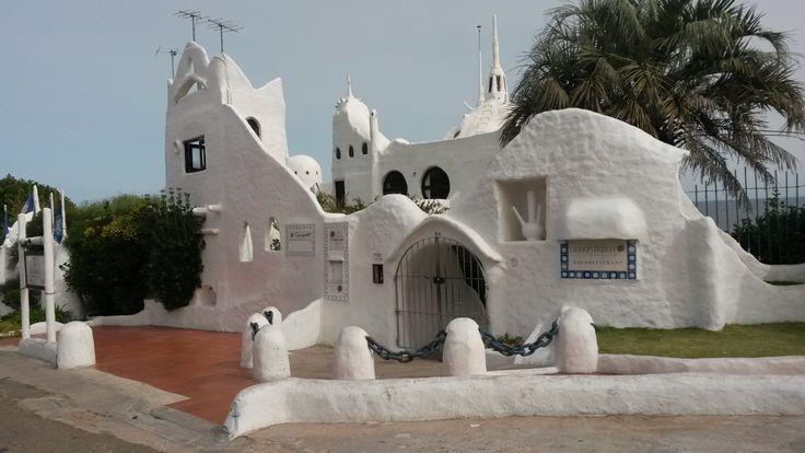 Casapueblo - Punta Ballena - Uruguai - Construida artista uruguaio Carlos Páez Vilaró