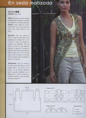 68 best crochet dusters images on pinterest crochet clothes marinita entre hilos y agujas a crochet sacos y tapados ccuart Image collections