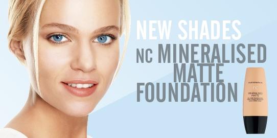 nc Mineralised Matte Oil-Free Foundation 30ml