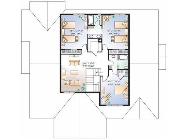 Level 2 sims house ideas pinterest house plans for Sims 2 floor plans