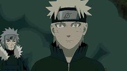 """Our Naruto really has grown strong, Kushina."" Namikaze Minato & Uzumaki Naruto; The Day Naruto Was Born - Naruto: Shippūden E380"