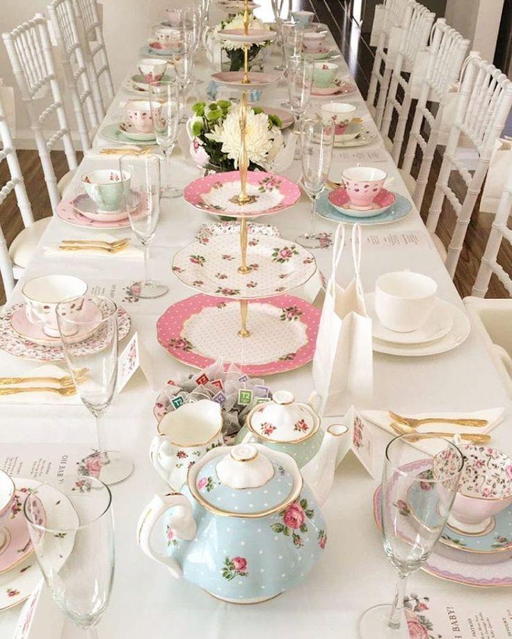 English Tea Party Decorations: Best 25+ Tea Party Table Ideas On Pinterest