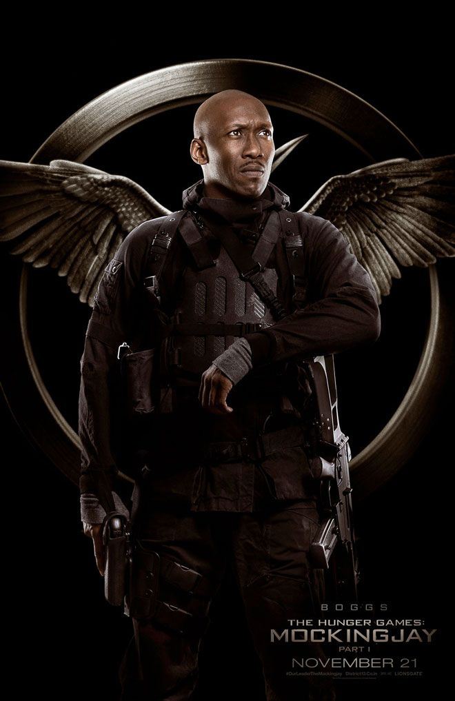 Meet the Rebels in These Awesome New Hunger Games: Mockingjay Posters: Boggs
