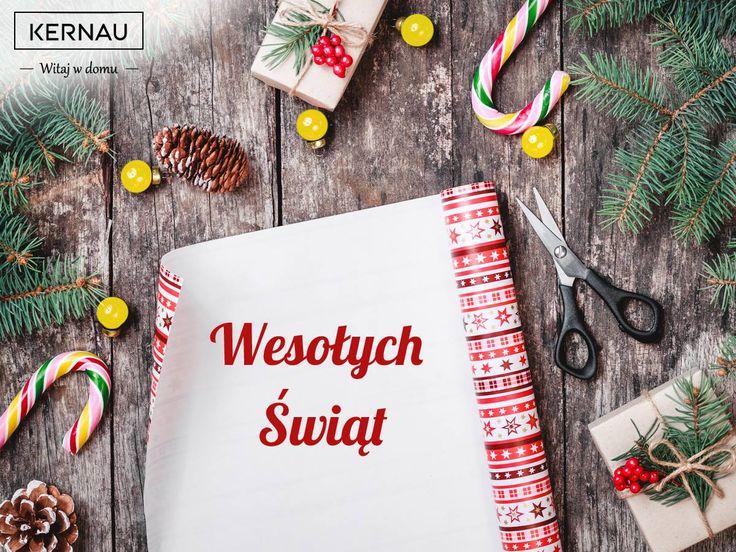 Słodkich, rodzinnych, pełnych ciepła Świąt Bożego Narodzenia 🎄 i oczywiście Szczęśliwego Nowego Roku 2017 życzy zespół Kernau :)!
