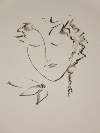"""Sleep Well"" #Creative #Art in #sketching @Touchtalent"