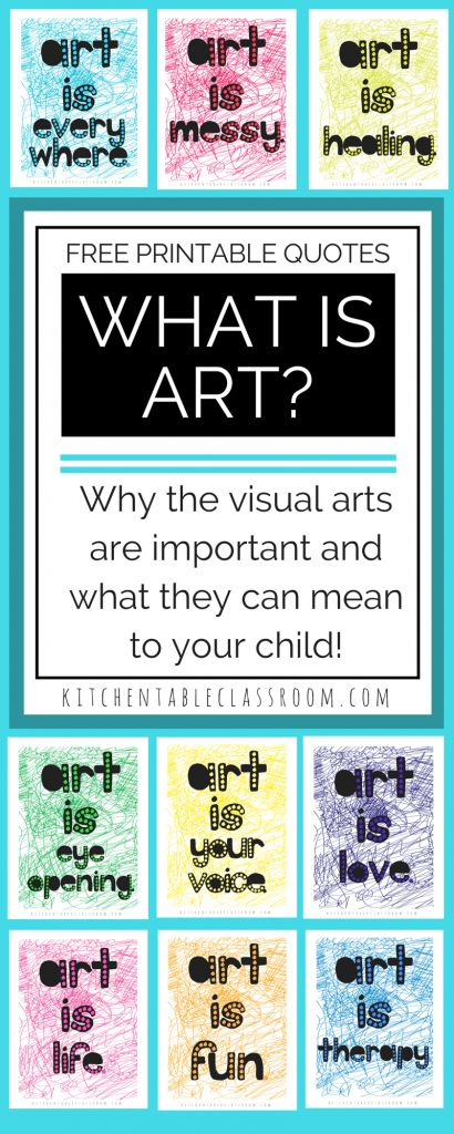 Do you have child that will grow up to be an artist? Will they make their living through fine art or commercial art? For those of you that shook your head no I encourage you to ask the question how can art encourage your child even if they aren't a gifted artist. What is art and how can it benefit every child?