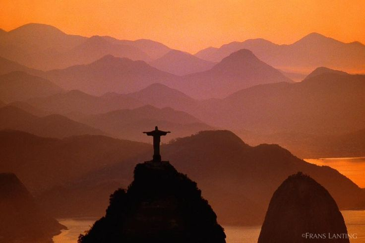 @FransLanting  Here is the view of Rio de Janeiro from the statue of Christ the Redeemer atop Corcovado Mountain in the Tijuca Forest National Park. Cheers to all the Olympics athletes--and watch for more from us about animal athletes!  #Olympics #Rio #RiodeJaneiro #ChristTheRedeemer #TijucaForestNationalPark #Athletes