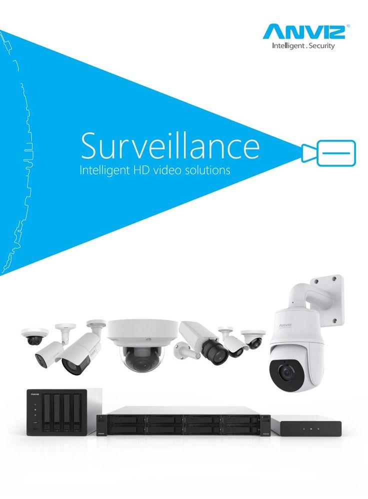 Anviz surveillance catalogue