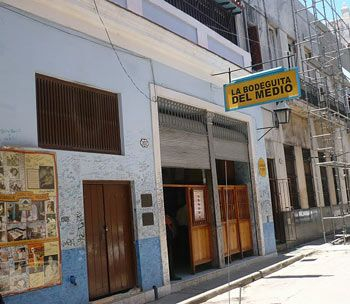 Bodeguita del Medio - Havana, Cuba - Where Ernest Hemingway drank mojitos