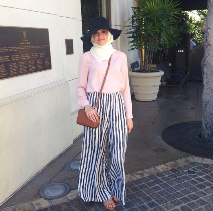 Hijab + Palazzo Pants (With Love Leena)