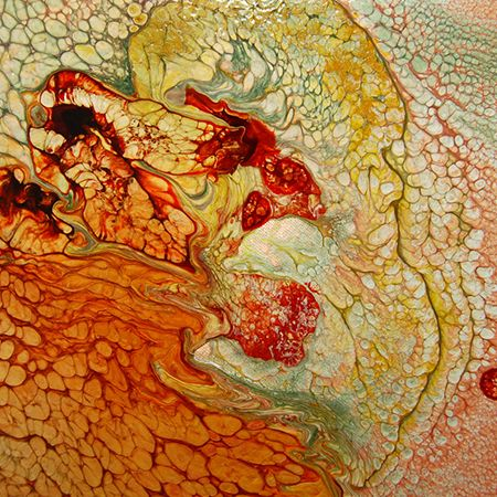Fantasy Prisme sur peinture vitrail   DeSerres