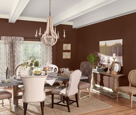 Vote For Your All Time Favorite Hu0026H Room. Brown Dining ...